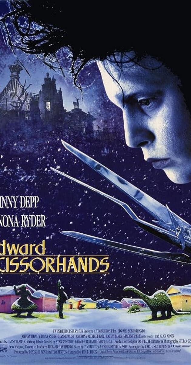 Subtitle of Edward Scissorhands