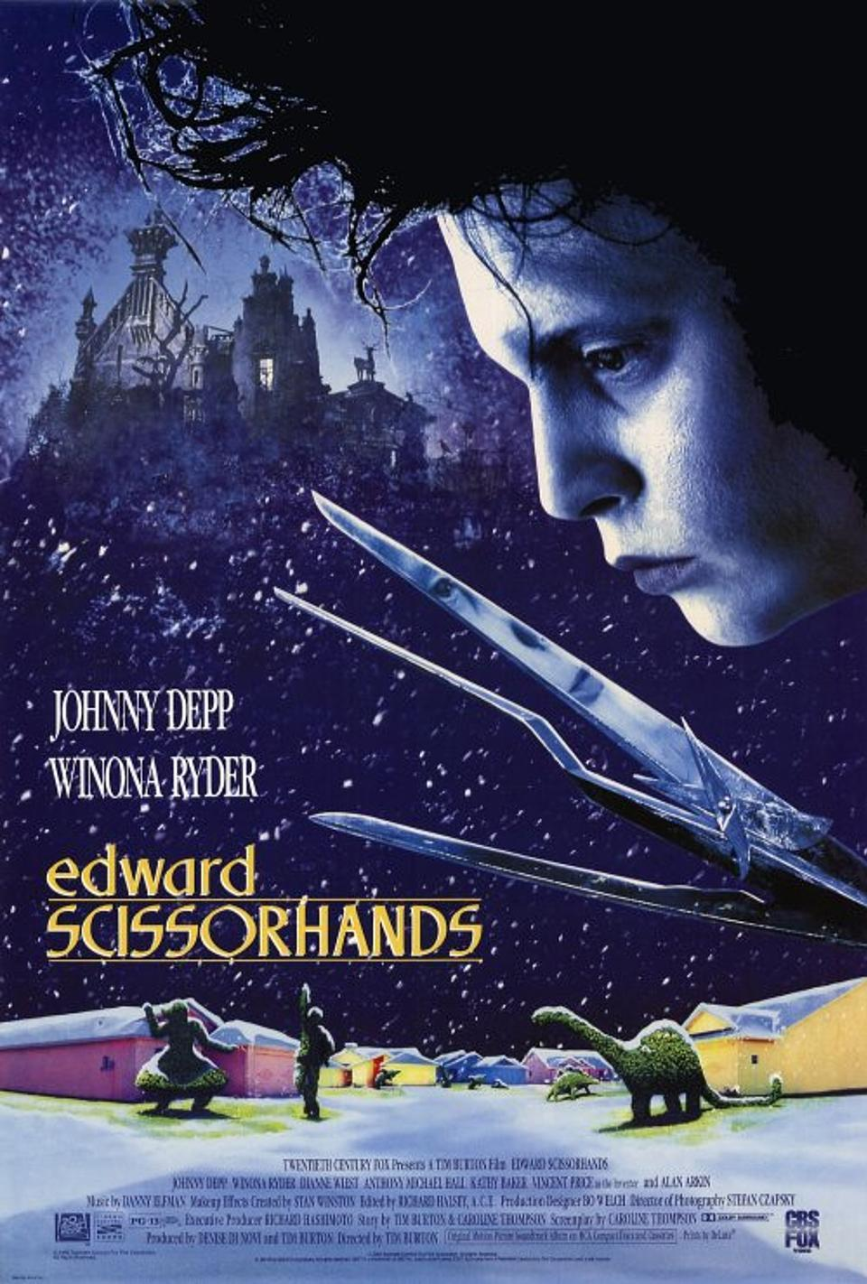 Edward Scissorhands (1990) BluRay 480p, 720p & 1080p