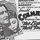 Muriel Angelus and Ronald Colman in The Light That Failed (1939)