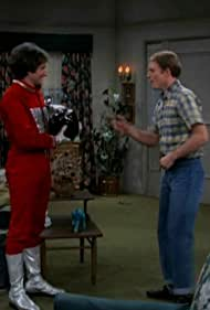Ron Howard and Robin Williams in Happy Days (1974)
