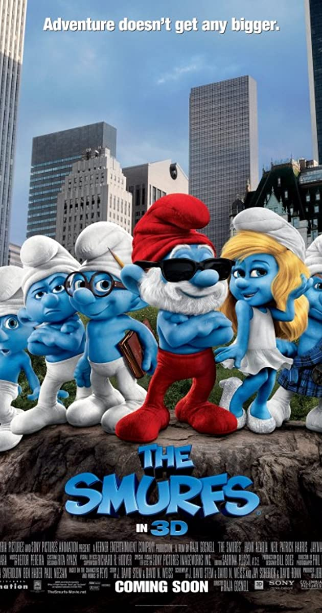 Subtitle of The Smurfs