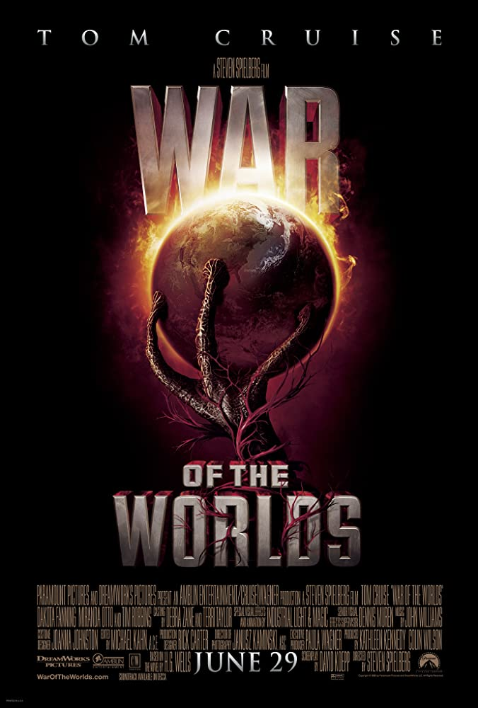Poster film War of The Worlds (2005)