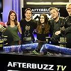 Jonathan Lipnicki, Bryan James, Brittany Underwood, Mike Manning, and Yael Tygiel in AfterBuzz TV's Spotlight On (2014)