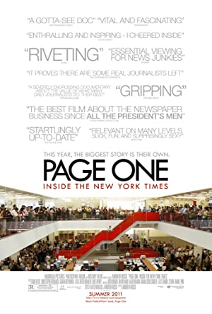 Where to stream Page One: Inside the New York Times