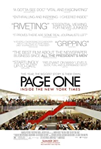 Primary photo for Page One: Inside the New York Times