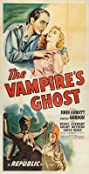 The Vampire's Ghost (1945) Poster