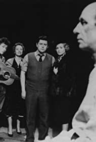Bob Dylan, David Warner, Ursula Howells, Reg Lye, and Maureen Pryor in The Madhouse on Castle Street (1963)