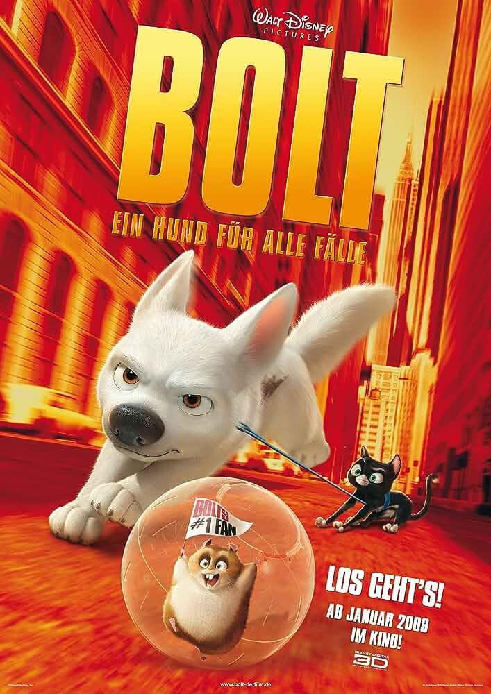 Bolt (2008) Hindi Dubbed
