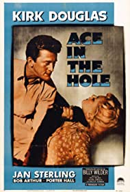 Kirk Douglas and Jan Sterling in Ace in the Hole (1951)