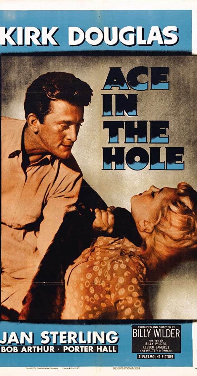 Subtitle of Ace in the Hole