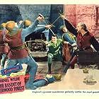 John Abbott and Cornel Wilde in The Bandit of Sherwood Forest (1946)