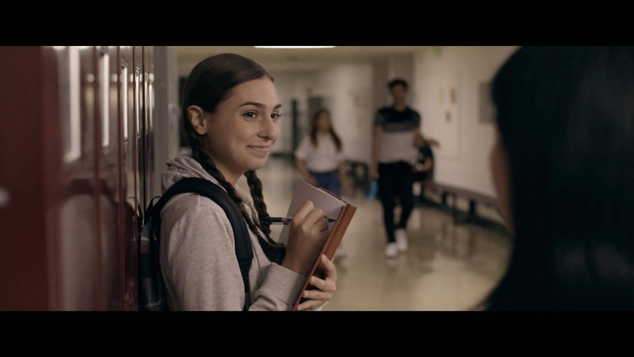 Konat as Sara in Were You Gay in High School