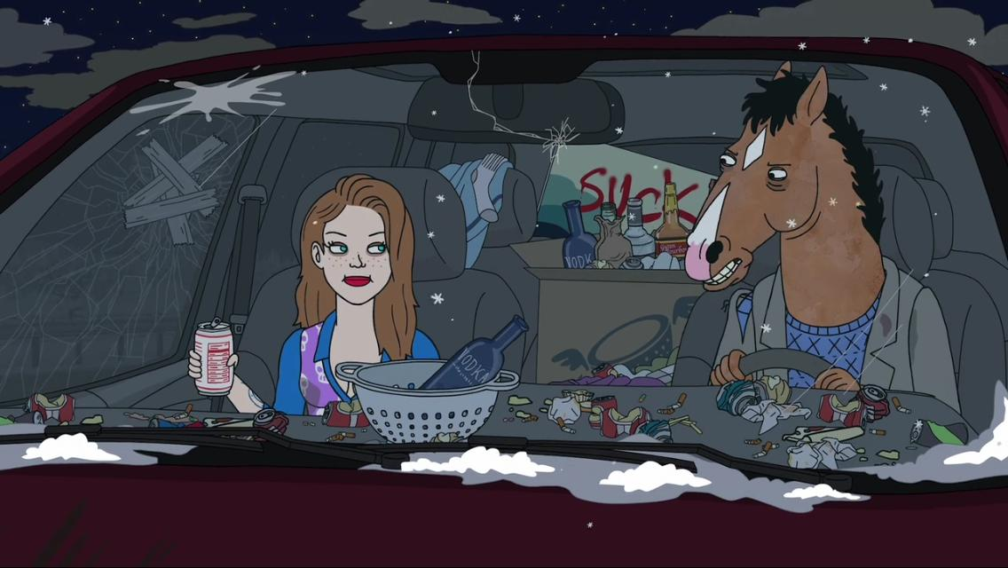 Image result for bojack horseman thats too much man