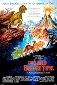 Judith Barsi, Gabriel Damon, Candace Hutson, Will Ryan, and Frank Welker in The Land Before Time (1988)