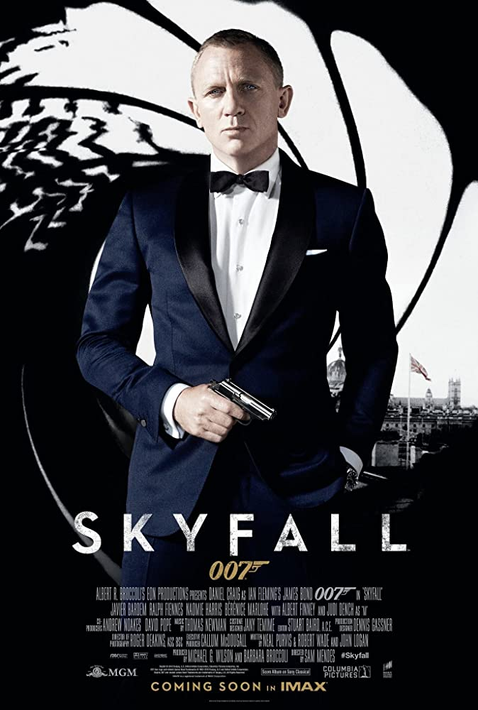 Skyfall (2012) Dual Audio 720p BluRay x264 [Hindi + English] ESubs