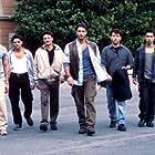 Francesco Benigno, Raoul Bova, Simone Corrente, Ricky Memphis, Giorgio Tirabassi, and Taiyo Yamanouchi in Ultimo 2 - La sfida (1999)