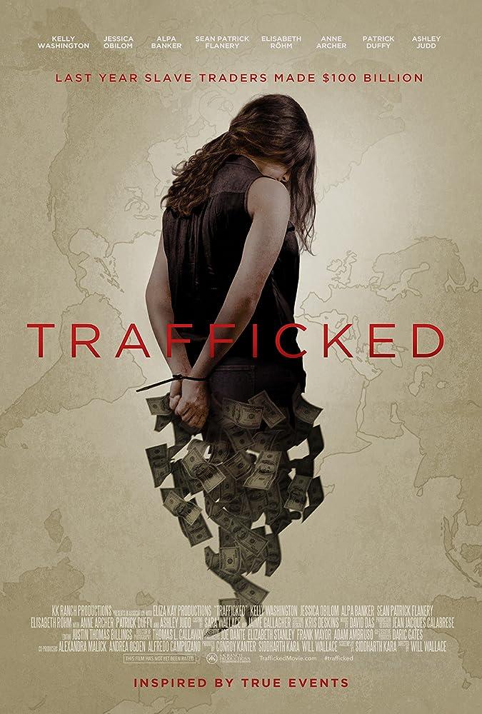 Ashley Judd, Anne Archer, Patrick Duffy, Sean Patrick Flanery, Elisabeth Röhm, Kelly Washington, Jessica Obilom, and Alpa Banker in Trafficked (2017)