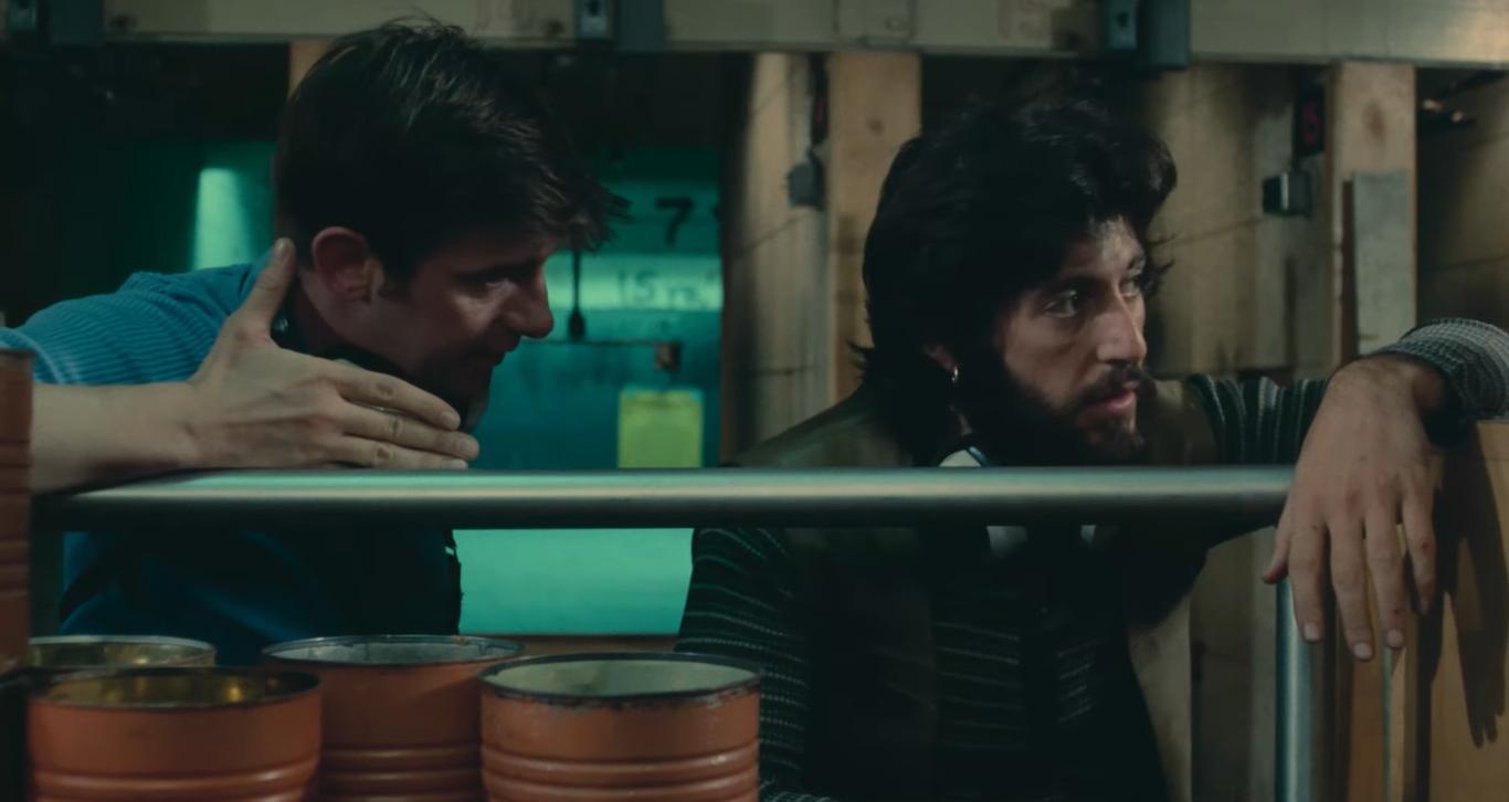 Al Pacino and Jack Kehoe in Serpico (1973)
