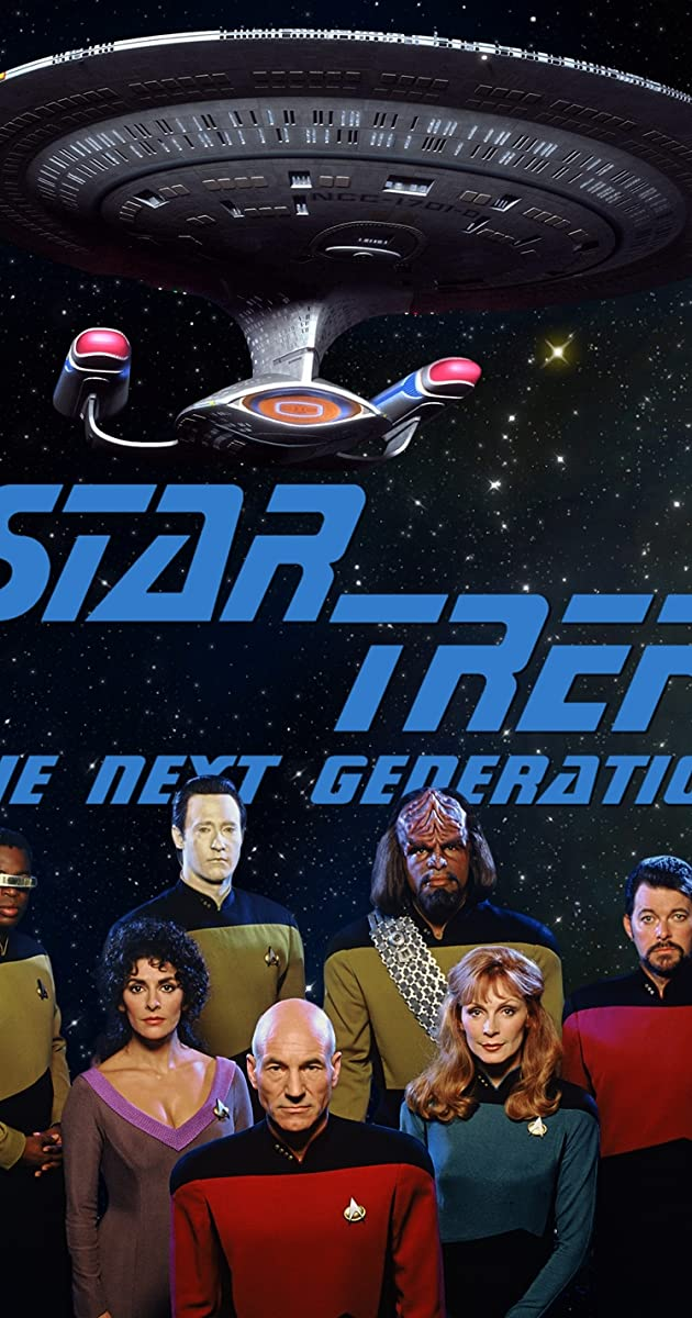 CHOOSE YOUR SIZE! Star Trek Poster Large Starship Enterprise Poster FREE P+P