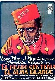 El negro que tenía el alma blanca Poster