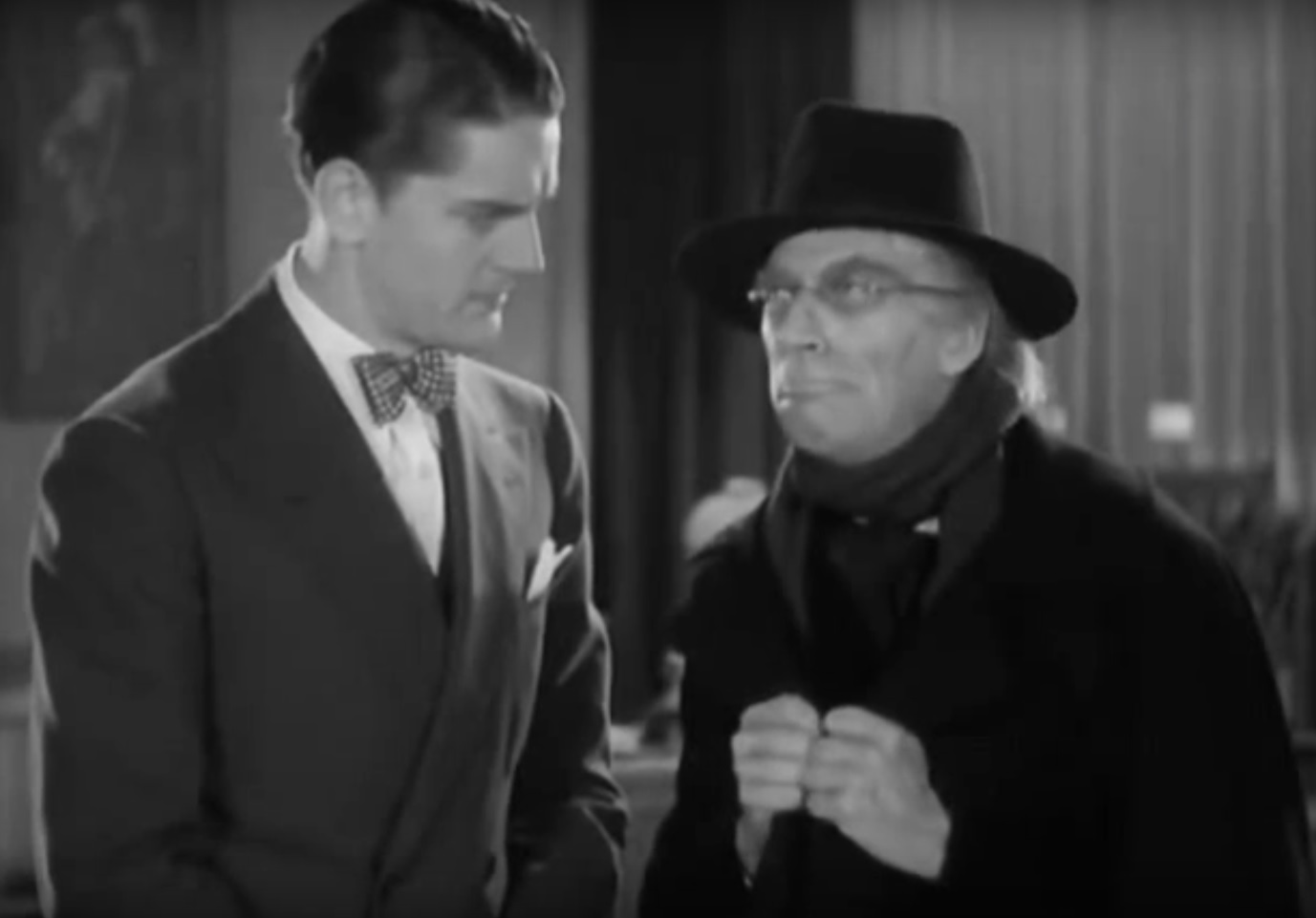 Ned Sparks and Hugh Trevor in Conspiracy (1930)