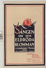 Sången om den eldröda blomman Poster