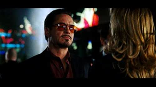 Tony Stark Confronted by a Vanity Fair Reporter