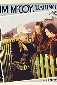 Tim McCoy, Murdock MacQuarrie, and Alberta Vaughn in Daring Danger (1932)