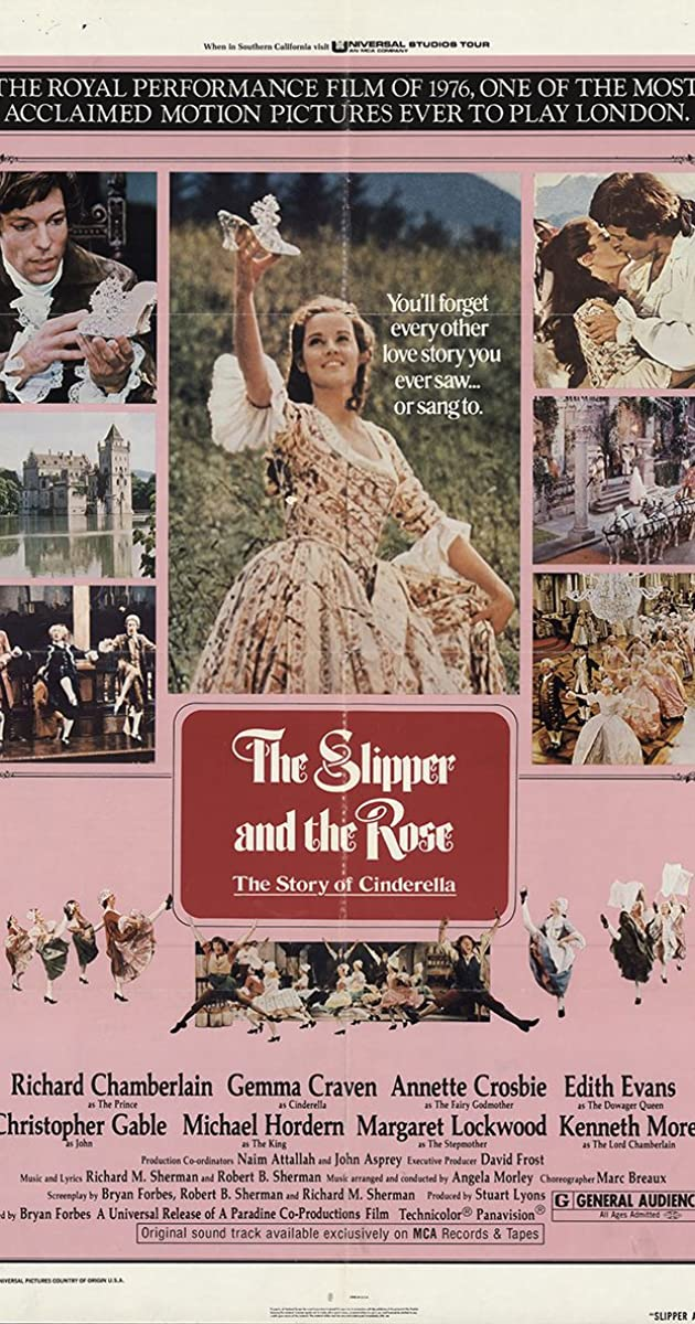 Subtitle of The Slipper and the Rose: The Story of Cinderella