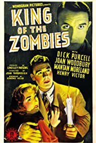Dick Purcell, Henry Victor, and Joan Woodbury in King of the Zombies (1941)