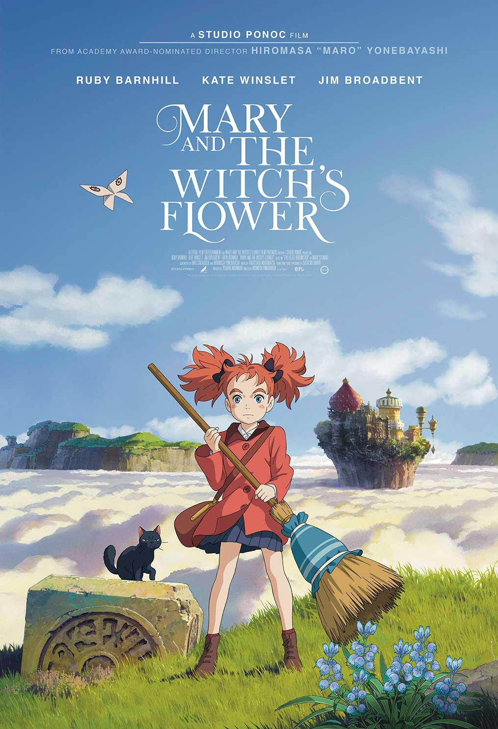 MARY AND THE WITCH'S FLOWER (2017)