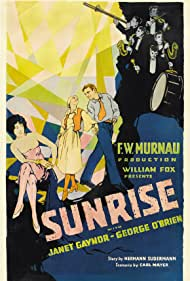 Janet Gaynor, Margaret Livingston, and George O'Brien in Sunrise: A Song of Two Humans (1927)