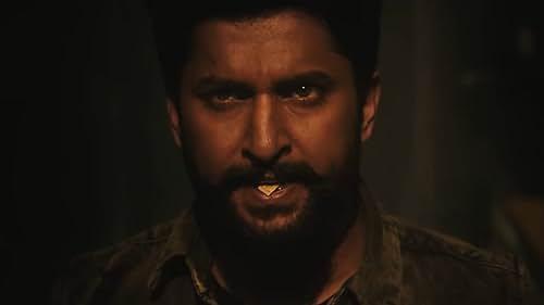 Amazon Presents Mohanankrishna Indraganti's V official trailer, a Sri Venkateswara Creations, a 'Dil' Raju productions, an action thriller film, starring Nani, Sudheer Babu, Nivetha Thomas and Aditi Rao Hydari. Nani #25 marks Nani's 25th film who stars as an antagonist in the film.