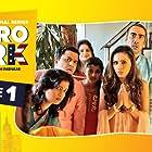 Arnav Joshi, Aashmi Joshi, Omi Vaidya, Purbi Joshi, Vega Tamotia, Indraneil Joshi, and Maya Indraneil Joshi in Metro Park (2019)