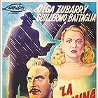 Guillermo Battaglia and Olga Zubarry in La muerte camina en la lluvia (1948)