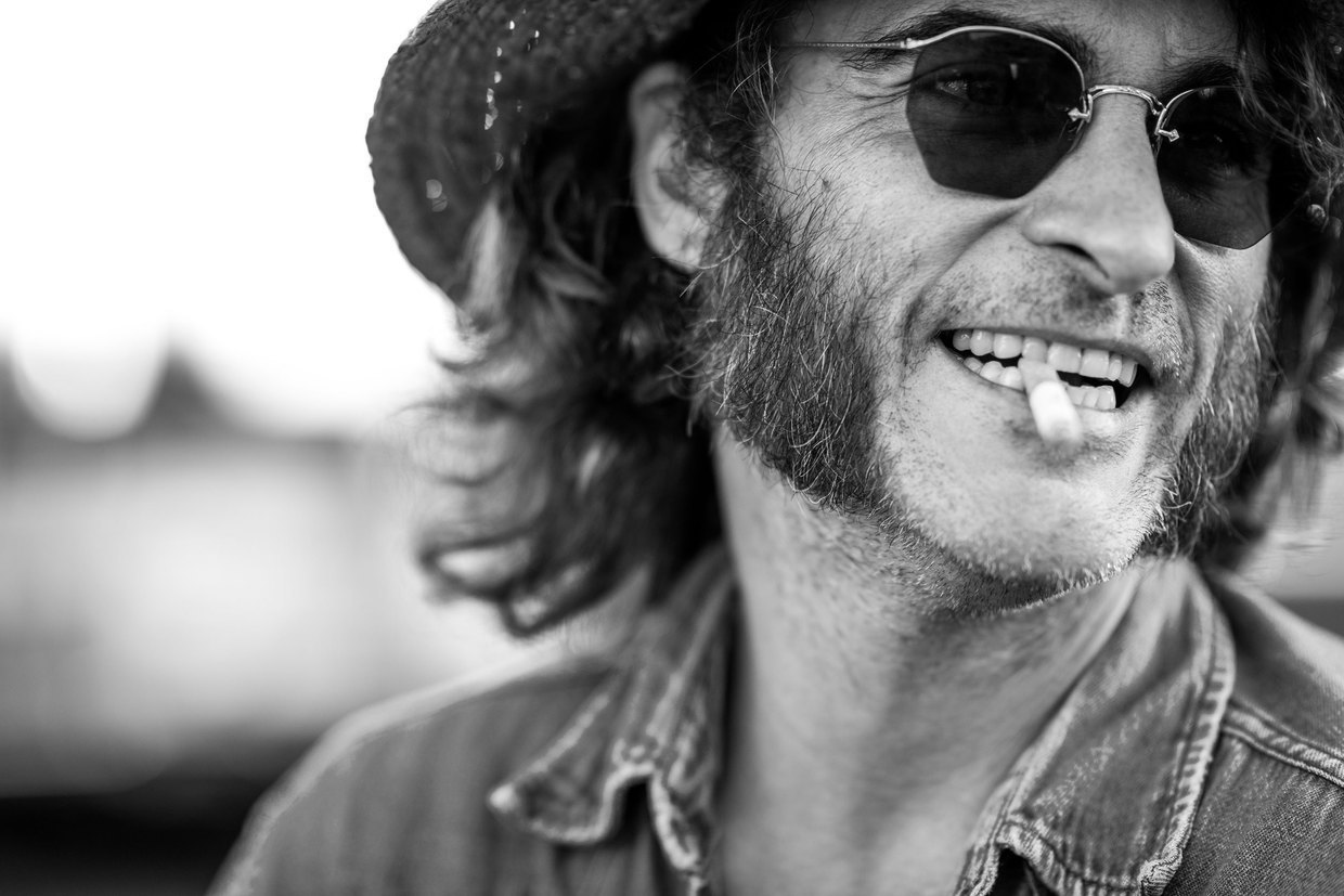 Joaquin Phoenix in Inherent Vice 2014