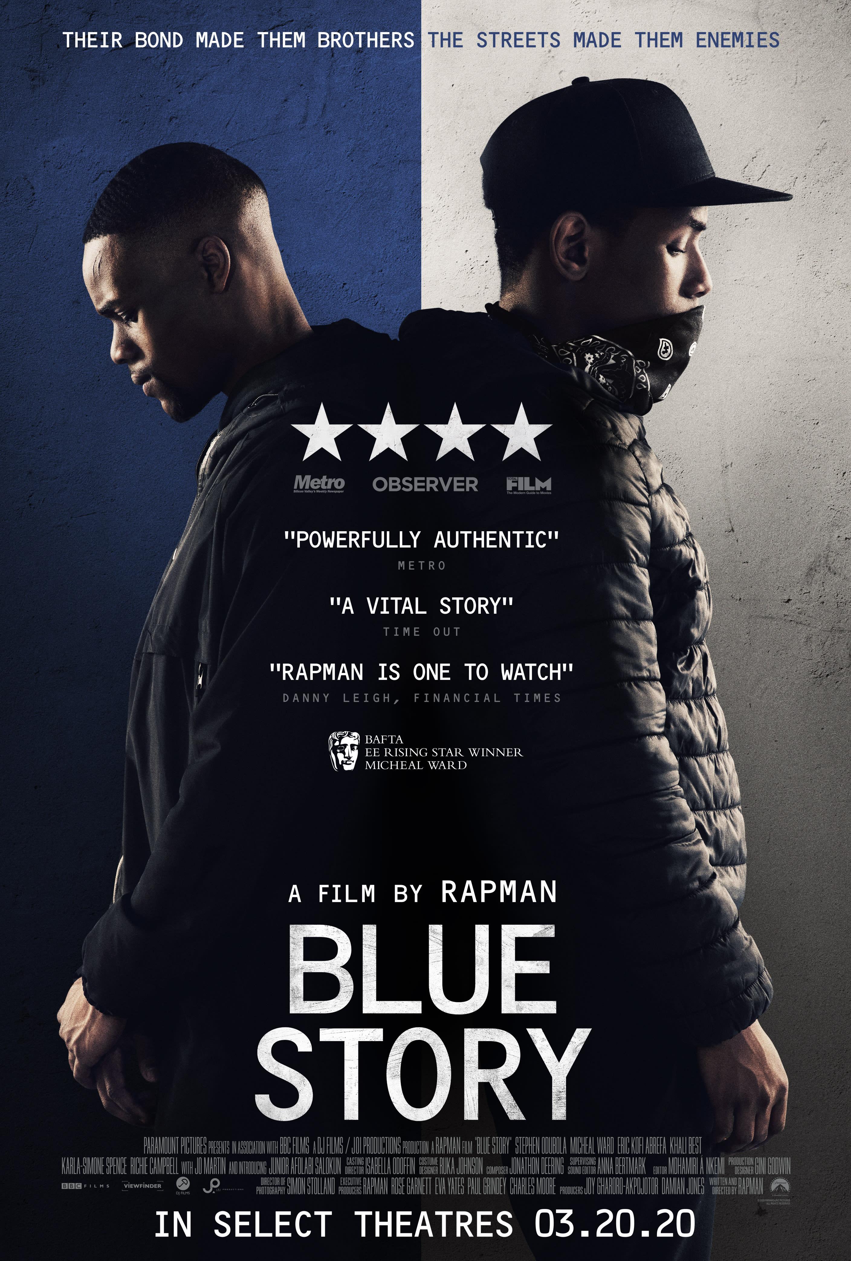 MĖLYNOJI ISTORIJA (2019) / Blue Story