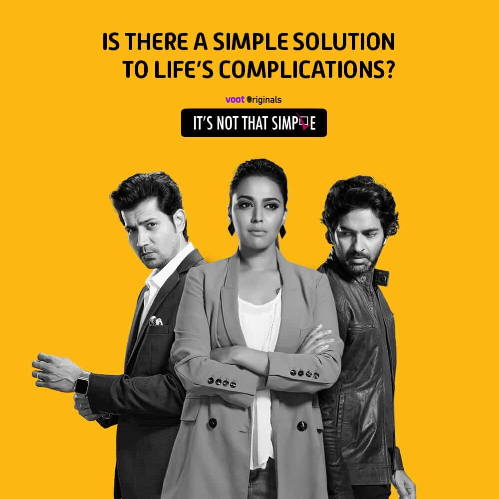 Its Not That Simple 2016 S01 Hindi Complete A Voot Original Web Series 500MB HDRip 480p
