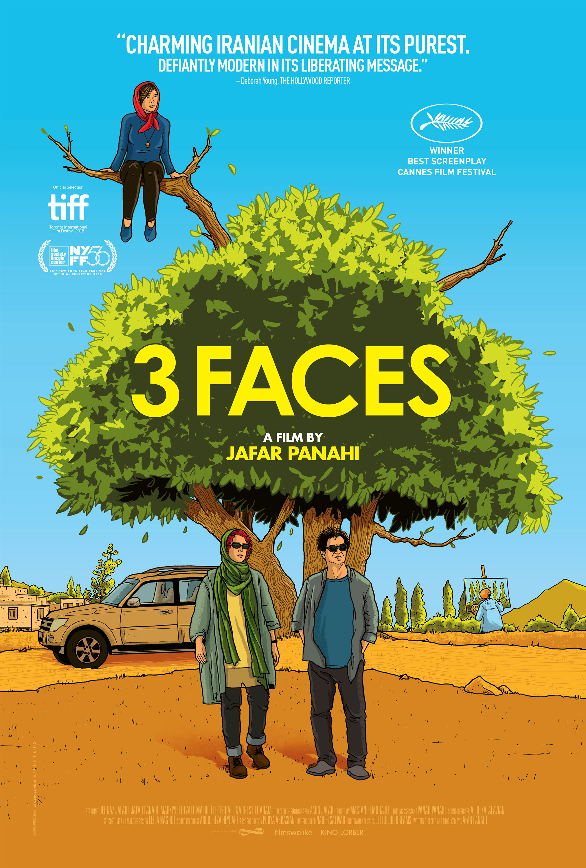 Image result for 3 faces movie