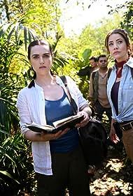 Julie Gonzalo and Katie McGrath in Confidence Women (2019)