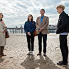 Lisa Kudrow, Adrian Lukis, Mae Martin, and Charlotte Ritchie in Feel Good (2020)