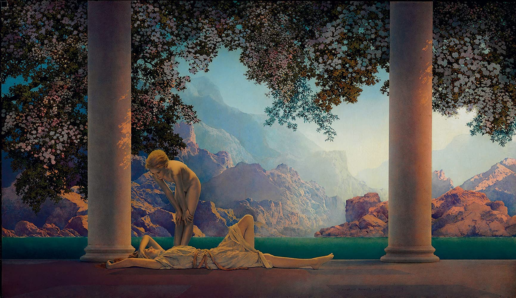 Question maxfield parrish swinging girl opinion you