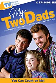 Paul Reiser, Greg Evigan, and Staci Keanan in My Two Dads (1987)