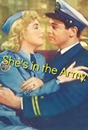 She's in the Army Poster