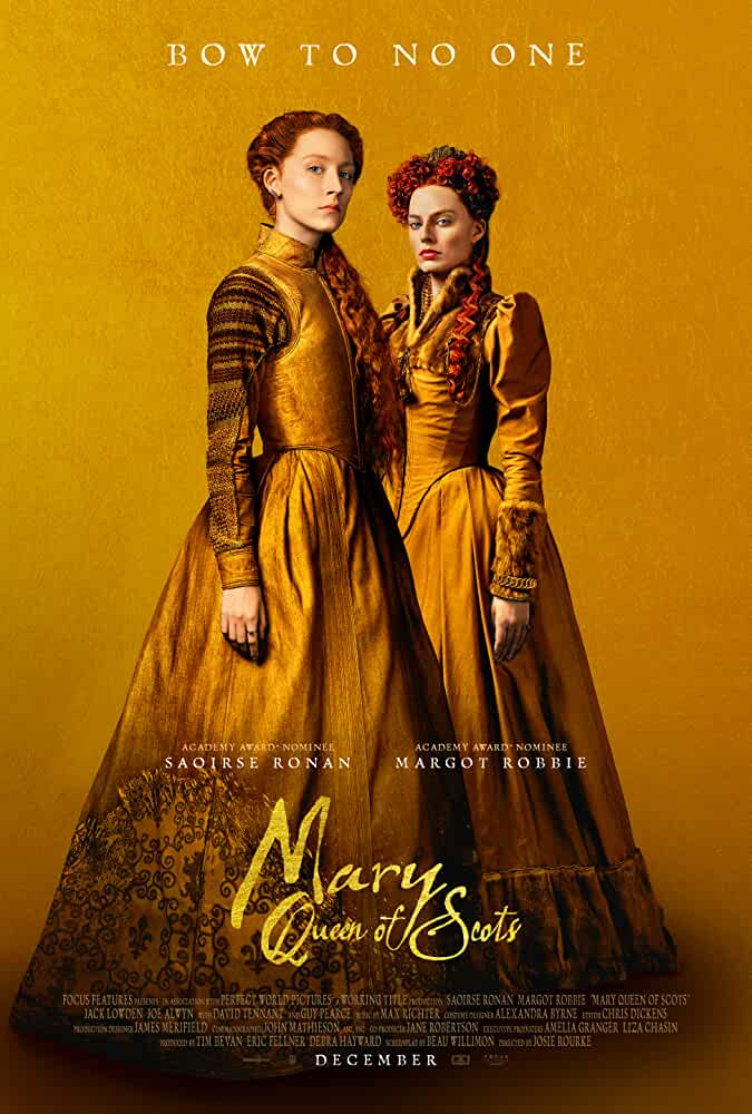 Mary Queen of Scots (2018) English Movie In BluRay 720p |1.2GB | Watch Online | Download |
