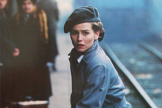 Tara Fitzgerald in Fall from Grace (1994)