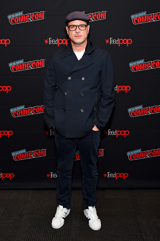 Matthew Vaughn at an event for The King's Man (2021)