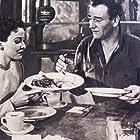 John Wayne and Laraine Day in Tycoon (1947)