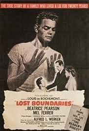 Lost Boundaries(1949) Poster - Movie Forum, Cast, Reviews