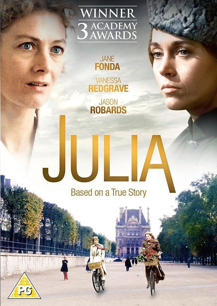 Jane Fonda and Vanessa Redgrave in Julia (1977)
